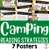 Camping Theme: Reading Strategy Posters