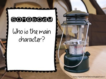 Camping Theme: Somebody, Wanted, But, So, Then