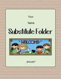 Camping Themed Substitute Folder Forms