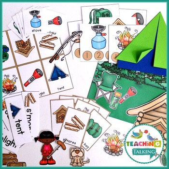 Camping Theme Vocabulary Activities