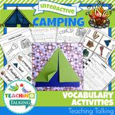 Camping Vocabulary Activities