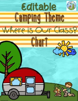 Camping Theme Where is Our Class?