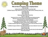 Camping Theme for Your Classroom: More than 80 pages Included!