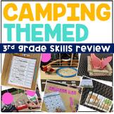 Camping Themed 3rd Grade Skills Review