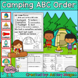 Camping Themed ABC Order Center/Station with differentiati