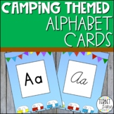 Camping Theme Alphabet Cards
