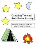 Camping Themed Articulation Activity!