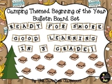 Bulletin Board Set: Camping Themed Beginning of The Year