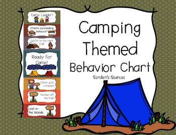 Camping Themed Behavior Clip Chart!