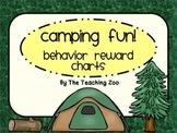 Camping Themed Behavior Reward Charts