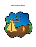 Camping Themed Bingo Game