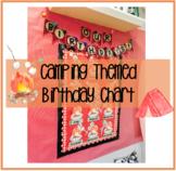 Camping Themed Birthday Chart