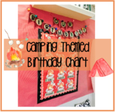 Camping Themed Birthday Chart