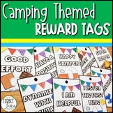 Camping Themed Award Tags