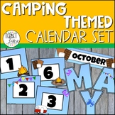 Camping Themed Classroom Calendar Set