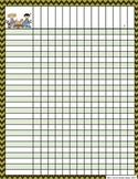Camping Themed Editable Checklists (with chevron, striped and plaid backgrounds)