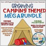 Camping Themed Classroom Growing Megabundle
