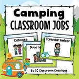 Camping Themed Classroom Jobs- Classroom Decor