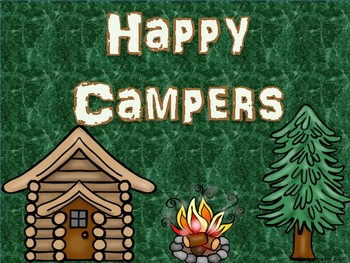 Camping Themed Classroom Kit Bundle - Complete Classroom Pack {Camp Fun!}