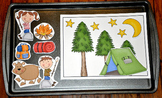 Camping Cookie Sheet Activities