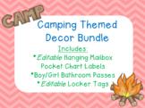 Camping Themed Decor Bundle