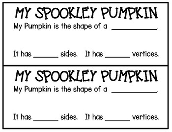 Spookley the Square Pumpkin Shape Craft