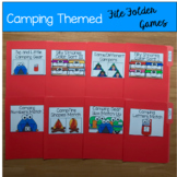 Camping Themed File Folder Games