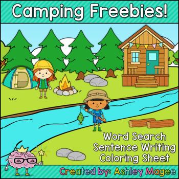 Camping Themed Fun Freebies