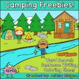 Camping Themed Fun Freebies