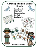 Camping Themed Game Bundle