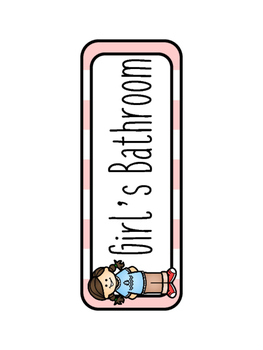Camping Themed Hall Passes`
