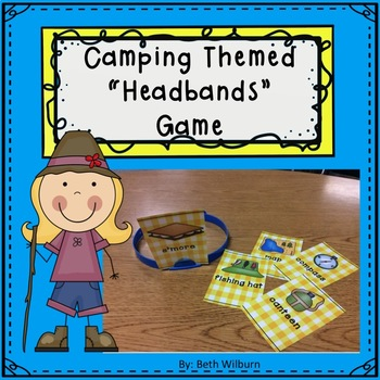 Camping Themed Headbands
