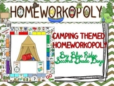 Camping Themed Homeworkopoly