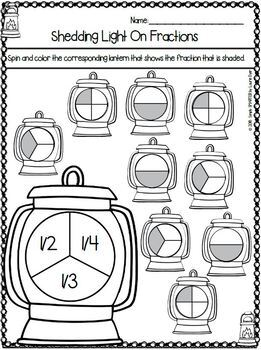 Camping Themed Kindergarten Math and Literacy Worksheets and Activities