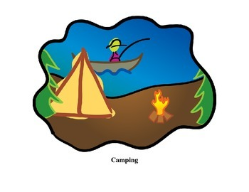 Camping Themed Lesson Plan