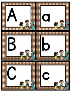 Camping Themed Letter Recognition Activities