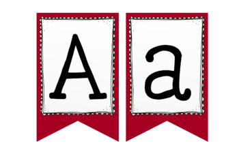 Letter & Number Banners