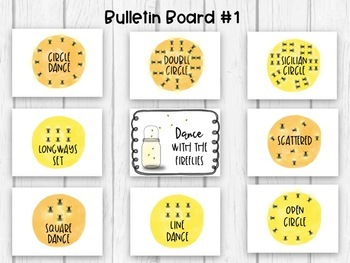 Camping-Themed Music Classroom Decor Set