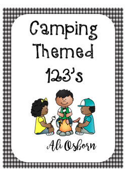 Camping Themed Numbers