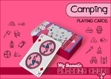 Camping Themed Playing Cards Deck