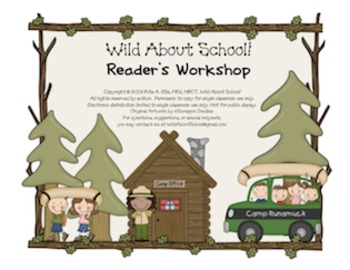 Camping Readers Workshop Posters Style 1