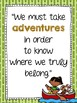 Camping  Themed Inspirational Quotes