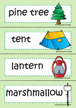 Camping Themed Unit - Teach Learn Create