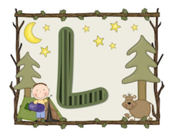 Camping Welcome Banner