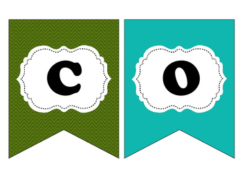 """Camping Themed """"Welcome"""" Banner or Bulletin Board Decor"""