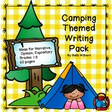 Camping Themed Writing Pack