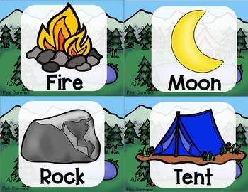 Camping Themed Yoga