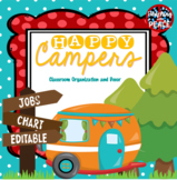 Camping Theme Jobs Chart **editable**