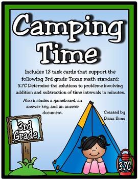 Camping Time (TEKS 3.7C)