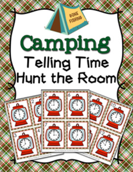 Camping Time to the Hour Hunt the Room